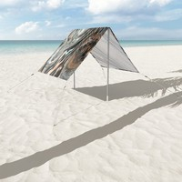Copper and Stone Sun Shade by duckyb