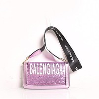 Balenciaga Sequins Crossbody Bag