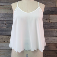 Rosalie Open Back Tank Top