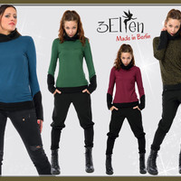 Winter Sweater Fleece Woman by 3Elfen