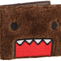 Best Stuff - Domo Men's Plush Wallet, Brown, One Size