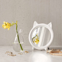 Tabletop Cat Mirror - Urban Outfitters