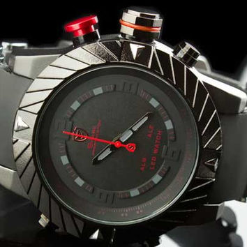 "Shark Watch Tire Tread Bullet Band Invisi-LED ""Ghibli"""