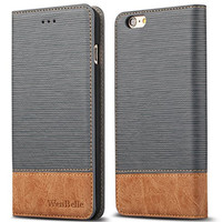 Blazers Series,Stand Feature Leather Wallet Cover Flip Cases For apple iPhone 6 6s 4.7