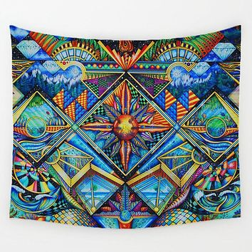 Trippy Scenery Tapestry