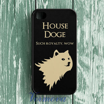 Doge Game of Thrones   fashion phone Cover Case for iphone 4 4S 5 5S 5C SE6 6s 6 plus 6s plus 7 7pus &zz55