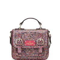 scout metallic patent leather crossbody bag, multicolor - kate spade new york