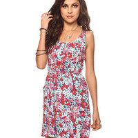 Abstract Floral Dress | FOREVER21 - 2000035558