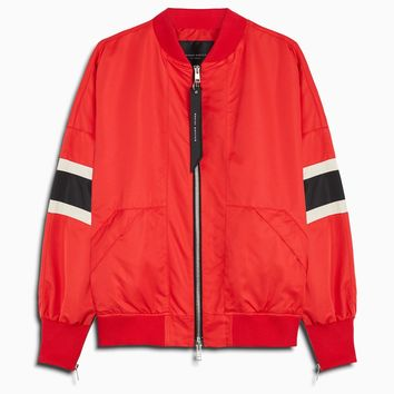 bomber 5.5 / red + black + ivory