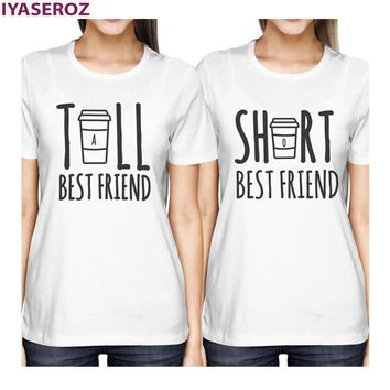 Tall Best Friend - Short Best Friend - BFF/Coffee - Women's T-shirt