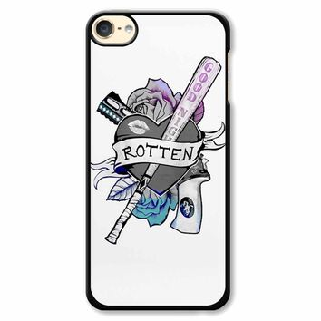 Harley Quinn Rotten Sticker iPod Touch 6 Case