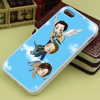 Supernatural Flying Cartoon custom mixcandy for iphone4/4s/5/5s/5c, samsung galaxy s3/s4/s5 and ipod 4/5 case