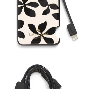 kate spade new york floral slim portable charger | Nordstrom