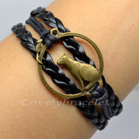 Lonely Wolf bracelet, parent-child bracelets, send to family and friends
