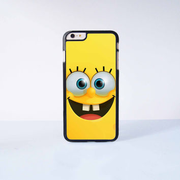 SpongeBob Plastic Case Cover for Apple iPhone 6 Plus 4 4s 5 5s 5c 6