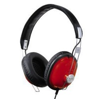 Panasonic RP-HTX7-R1 Monitor Stereo Headphones (Red)