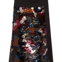Embellished Wool Melton Skirt | Moda Operandi