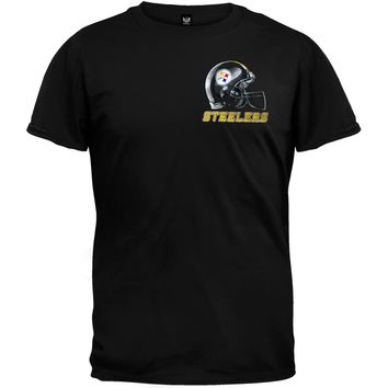 Pittsburgh Steelers - Sky Helmet T-Shirt