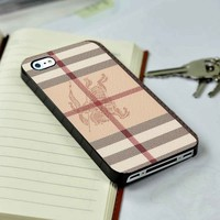 Burberry Wallet Logo iPhone 4 or 4s 5 5s 5c case and Samsung galaxy s3 s4 case