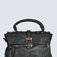 Billie Structured Flap Bag