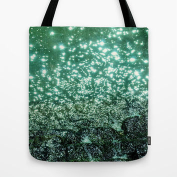 NATURAL SPARKLE Tote Bag by catspaws