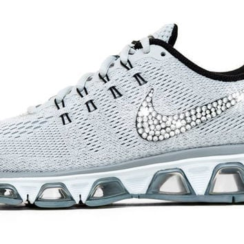 Nike Air Max Tailwind - Crystallized Swarovski Swoosh - Grey