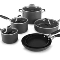 Select by Calphalon™ 10 Piece Hard-Anodized Non-stick Cookware Set : Target