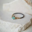 Variance Objects Womens Raw Opal Ring