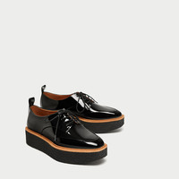 PLATFORM DERBY SHOES DETAILS