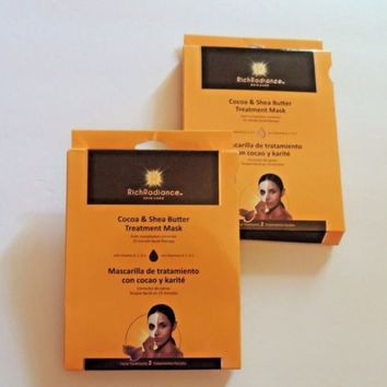 Rich Radiance Skin Care Treatment Mask lot of 2