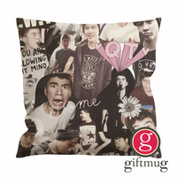 Calum Hood 5SOS Collage Cushion Case / Pillow Case