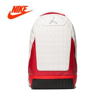 Official Original New Arrival Authentic Nike Air Jordan Retro 12 13 School Bag Sports Backpack Computer Bag
