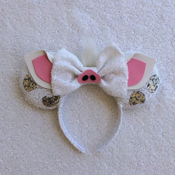Moana Mickey Minnie Mouse Ears Pua Pig