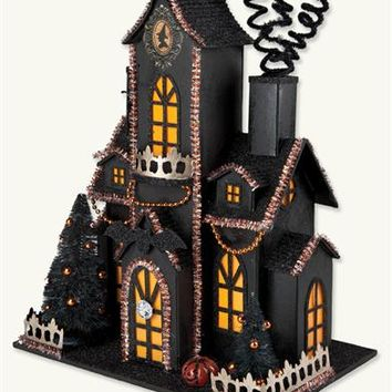 Haunted Mansion | Haunted Halloween House with Light