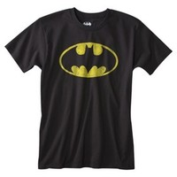 Batman Men's Logo Graphic Tee - Black