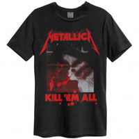 Metallica Kill Them All Slim Fit T-shirt - Metallica - M - Artists/Groups - Rockabilia
