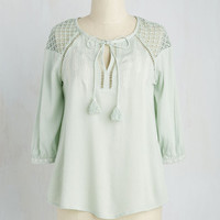 Boho Mid-length 3 Placid Perspective Top