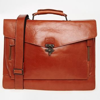 Royal RepubliQ Conductor Leather Satchel