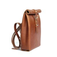 ROLLTOP BACKPACK BROWN