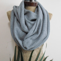 Wooly mens infinity scarf, Tshirt scarf, unisex fabric scarf, Unisex, Neckwarmer, Timeless, Modish, Pure and Soft Wool, Eco friendly.