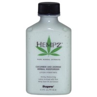 Hempz Herbal Moisturizer 2.5 oz TRAVEL SIZE!