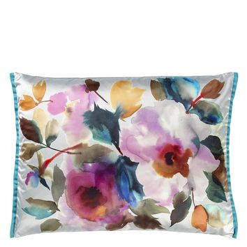 Designers Guild Surimono Berry Decorative Pillow