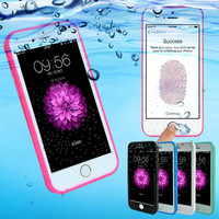 Shockproof Dustproof Underwater Diving Waterproof 360 Full Cover Phone Cases Cover For iPhone 5S 6 6S 6 Plus 4.7 5.5 inch+Nice Gift Box