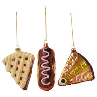 Found by Fab: Dessert Ornament Set Of 3