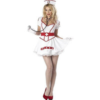 California Costumes Womens Nurse Heart Breaker Halloween Party Dress Costume