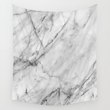 Marble Wall Tapestry by Patterns And Textures
