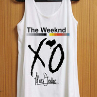 XO The Weeknd tank top for womens and mens heppy feed