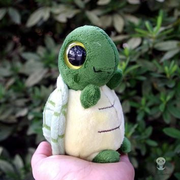Cute Big Eyes Turtle Stuffed Animal Plush Toy 6""