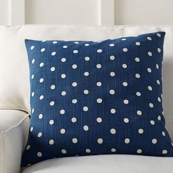 Polka Dot Pillow Cover