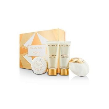 Aqva Divina Coffret: Eau De Toilette Spray 65ml/2.2oz + Body Lotion 100ml/3.4oz + Shower Gel 100ml/3.4oz + Soap 150g/5oz 4pcs
